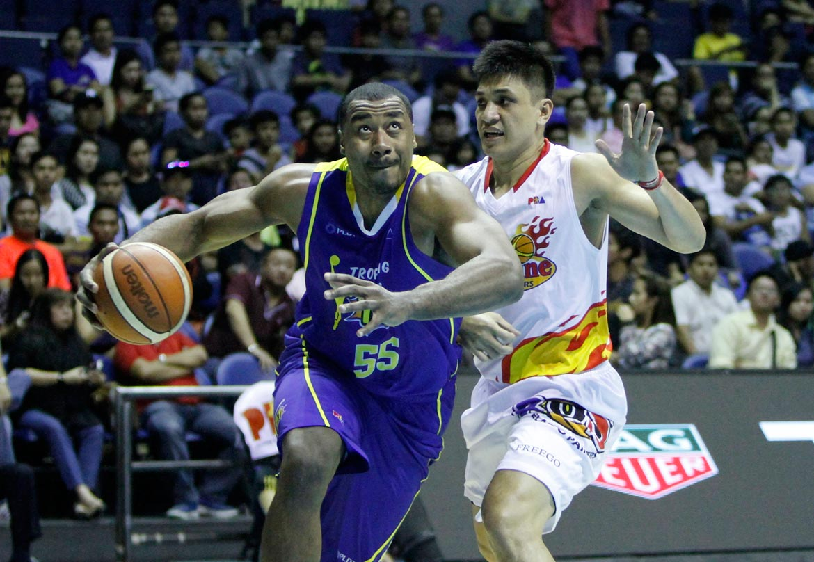 Tiebreaker Times Thanks to David Simon, defending champ TNT has it all figured out Basketball News PBA  Troy Rosario Talk N Text Tropang Texters Ranidel De Ocampo PBA Season 41 Nash Racela David Simon 2016 PBA Commissioners Cup