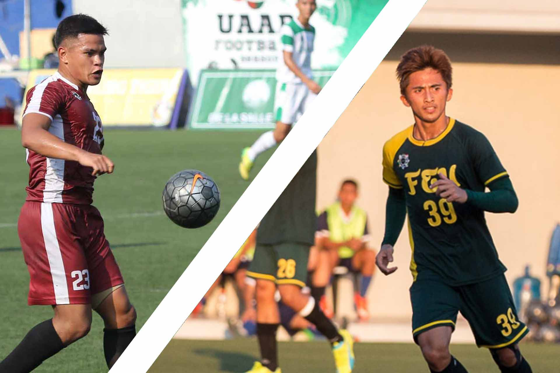 Tiebreaker Times UAAP stars hope for future Azkals call-ups FEU Football News Philippine Azkals UAAP UP  UAAP Season 78 Men's Football UAAP Season 78 Thomas Dooley Paolo Bugas Daniel Gadia