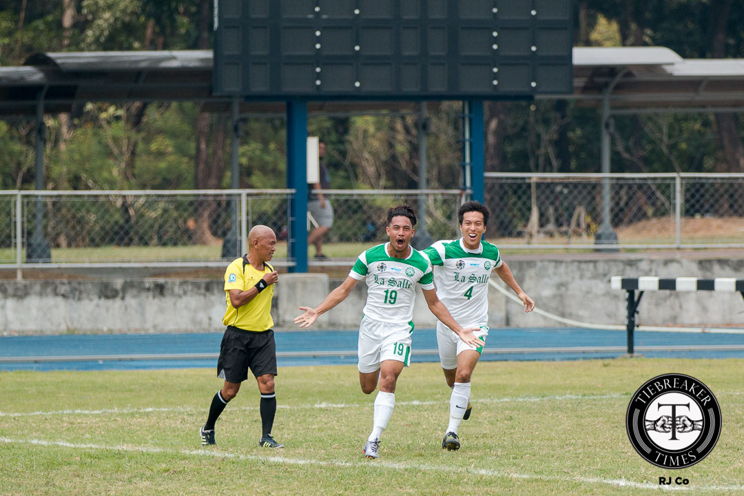 Tiebreaker Times Communication imperative for La Salle's defensive stalwarts DLSU Football News UAAP  UAAP Season 78 Men's Football Tournament UAAP Season 78 Noel Brago Gerald Layumas DLSU Men's Football Team DLSU Football
