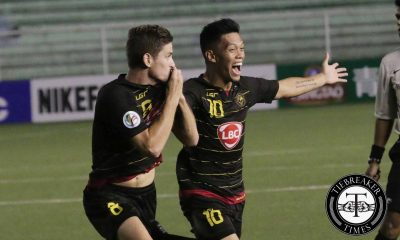 Tiebreaker Times Ugarte goal the difference as Kaya survives Balestier for second AFC Cup win Football News  OJ Porteria Matthew Acton Kaya FC Jovin Bedic Joel Villarino Asian Football Confederation Anton Ugarte Alfred Osei 2016 AFC Cup
