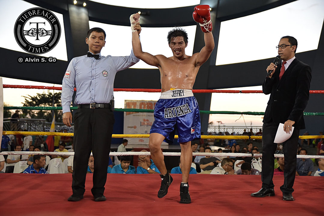 Philippine Sports News - Tiebreaker Times Not your ordinary boxer: Jeffrey Arienza on overcoming physical challenges Boxing News  Jeffrey Arienza