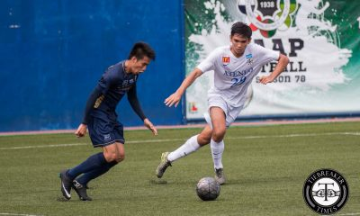 Tiebreaker Times Rocha emphasizes focus for struggling Blue Eagles ADMU Football UAAP  UAAP Season 78 Football Tournament Jeremiah Rocha Ateneo Men's Football Team
