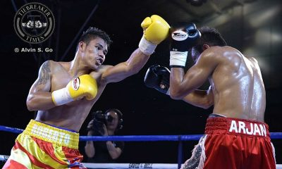 Tiebreaker Times Roberto Gonzales proves 'he deserves a bigger opportunity' Boxing News  Save by the Bell Promotions Roberto Gonzales Elmer Anuran