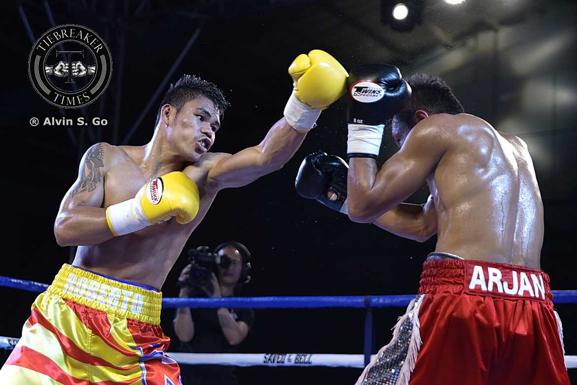 Philippine Sports News - Tiebreaker Times Roberto Gonzales proves 'he deserves a bigger opportunity' Boxing News  Save by the Bell Promotions Roberto Gonzales Elmer Anuran
