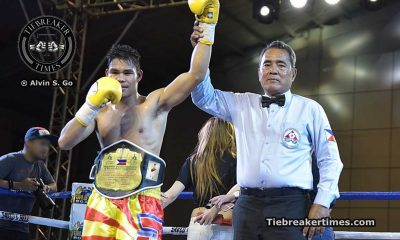 Tiebreaker Times Gonzales wins RP title; Paypa dethrones Concepcion Boxing News  Save by the Bell Promotions Ronald Alapormina Roman Canto Roberto Gonzales Rex Lagane Oliver Gregorio Marjun Tarazona Junjie Lauza Jovani Casin Jimmy Paypa Jimboy Rosales Jeric Potaso JC Fransisco Jay-Ar Lacsina Glenn Calacar Gilbert Donasales Elmer Anuran Bryan Macamay Bernabe Concepcion Arjan Canillas