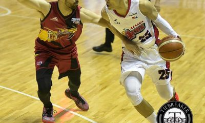 Tiebreaker Times WATCH: In return to hardcourt, Hontiveros wary the clock is ticking Basketball News PBA  PBA Season 41 Dondon Hontiveros Alaska Aces 2016 PBA Commissioners Cup