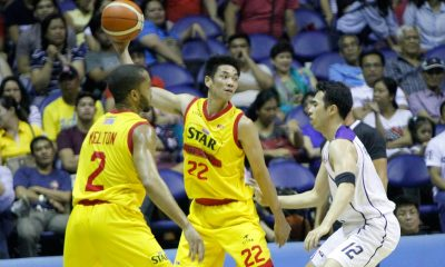 Tiebreaker Times Star shrugs off rocky start, turns tables on Talk 'N Text Basketball News PBA  Talk N Text Tropang Texters Star Hotshots Ricard Ratliffe Ranidel De Ocampo PBA Season 41 PBA 2016 Jason Castro James Yap David Simon Allein Maliksi 2016 PBA Commissioners Cup