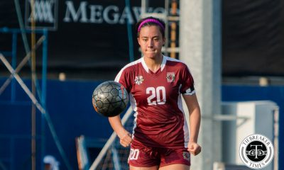 Tiebreaker Times Performance matters more than results for Lady Maroons Football News UAAP UP  UP Lady Maroons UAAP Season 78 Women's Football Team UAAP Season 78 Marie Navea-Huff