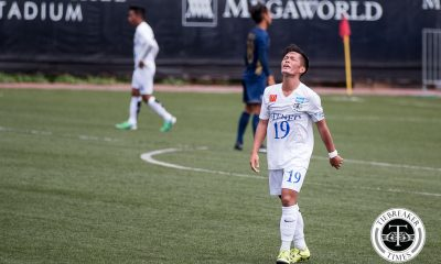 Tiebreaker Times Blue Eagles seek momentum following important victory over Bulldogs ADMU Football News UAAP  Mikko Mabanag Carlo Liay Ateneo Men's Football Team