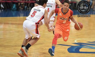 Tiebreaker Times Meralco bombards Blackwater to snap two game skid Basketball News PBA  Ryan Buenafe PBA Season 41 Norman Black Mike Cortez Meralco Bolts Leo Isaac Carlo Lastimosa Blackwater Elite Baser Amer Art dela Cruz Arinze Onuaku 2016 PBA Commissioners Cup
