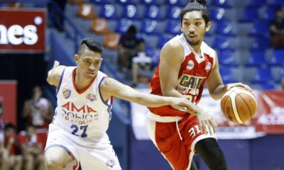 Tiebreaker Times Caida decimates AMA, moves on to semis Basketball News PBA D-League  Rashawn McCarthy Philip Paniamogan Mark Herrera Jio Jalalon Jerramy King Jason Perkins Jammer Jamito Jamil Gabawan Caloy Garcia Caida Tile Masters AMA Online Education Titans 2016 PBA D-League Season 2016 PBA D-League Aspirants Cup