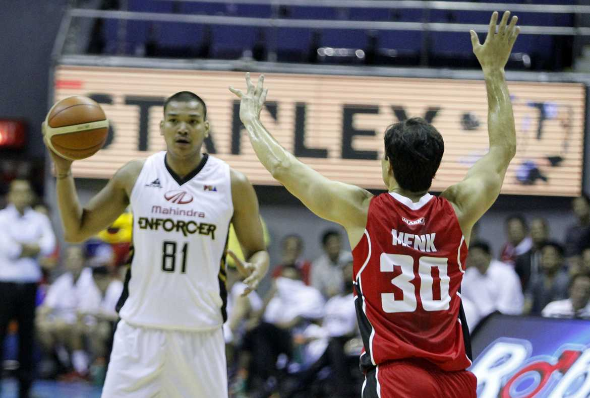 Tiebreaker Times Ballesteros thankful for Mahindra's trust Basketball News PBA  PBA Season 41 Mahindra Enforcers Jason Ballesteros 2016 PBA Commissioners Cup