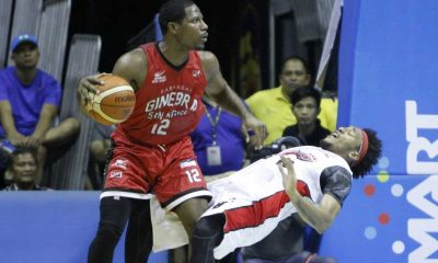 Tiebreaker Times Jeffers says Alaska loss a great confidence builder for Ginebra Basketball News PBA  PBA Season 41 Othyus Jeffers Calvin Abueva Barangay Ginebra San Miguel 2016 PBA Commissioners Cup