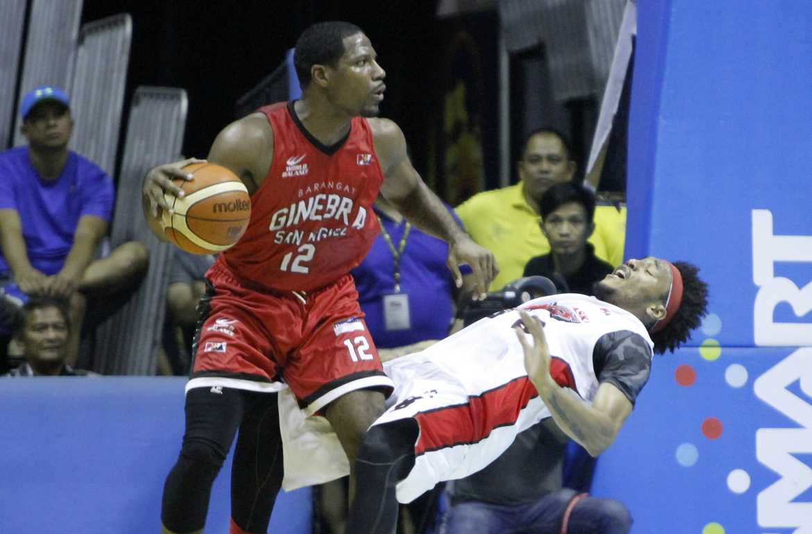 Philippine Sports News - Tiebreaker Times Jeffers says Alaska loss a great confidence builder for Ginebra Basketball News PBA  PBA Season 41 Othyus Jeffers Calvin Abueva Barangay Ginebra San Miguel 2016 PBA Commissioners Cup