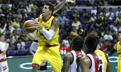 Tiebreaker Times Pingris on Yap injury: 'Mahirap kapag wala si James' Basketball News PBA  PBA Season 41 Marc Pingris James Yap 2016 PBA Commissioners Cup