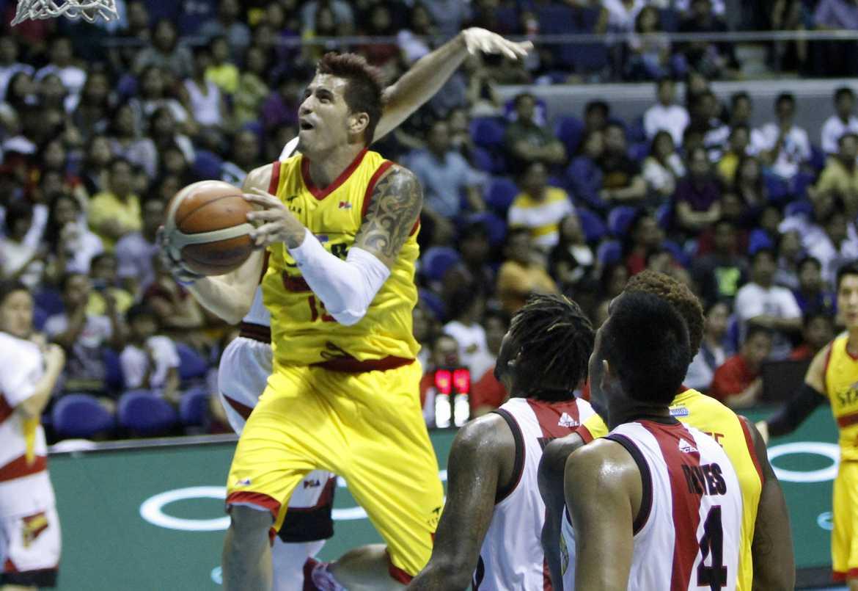 Tiebreaker Times Pingris on Yap injury: 'Mahirap kapag wala si James' Basketball News PBA  PBA Season 41 Marc Pingris James Yap 2016 PBA Commissioners Cup
