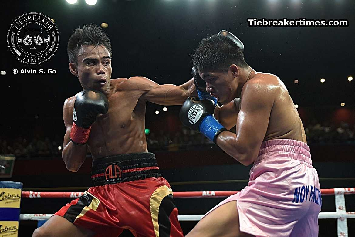 Philippine Sports News - Tiebreaker Times Jeo Santisima: Keeping his father's dream alive Boxing News  Pinoy Pride 35 Pinoy Pride Jeo Santisima ALA Boxing Promotions
