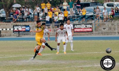 Tiebreaker Times Batisla-Ong penalty the difference as UST survives relentless UP Football News UAAP UP UST  Zaldy Abraham University of the Philippines Men's Football Team University of Santo Tomas Men's Football Team UAAP Season 78 Football Tournament Rvin Resuma Ronald Batisla-Ong Patxi Santos Marjo Allado Kyle Magdato Kintaro Miyagi JB Borlongan Ian Clarino Feb Baya Dionisio Busmion Jr. Darwin Busmion Daniel Gadia Carlos Monfort AJ Pasion