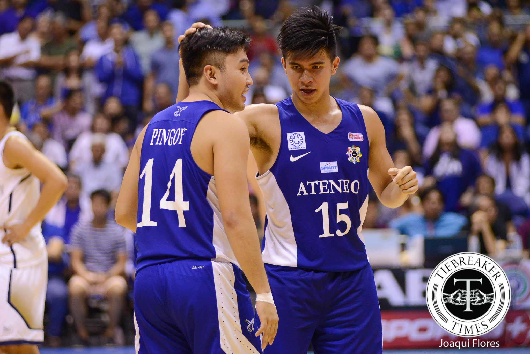 UAAP-78-ADMU-vs.-NU-Ravena-Pingoy-3898 Ravena bros look back on day Thirdy 'lost a year' ADMU Basketball News UAAP  - philippine sports news