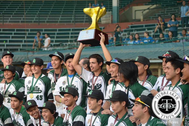 Tiebreaker Times 'The Closer' passes the torch Baseball DLSU News UAAP  UAAP Season 78 Baseball UAAP Season 78 DLSU Green Batters Carlos Munoz