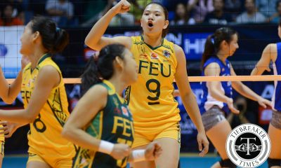 Tiebreaker Times Palma bringing the fight to DLSU FEU News UAAP Volleyball  UAAP Season 78 Women's Volleyball UAAP Season 78 Remy Palma FEU Women's Volleyball