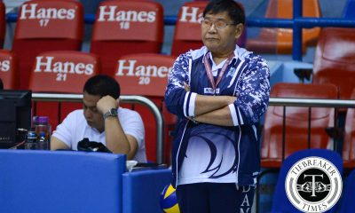 Tiebreaker Times Adamson MVT head coach Custodio to do double-duty AdU News UAAP Volleyball  UAAP Season 78 Women's Volleyball UAAP Season 78 Men's Volleyball UAAP Season 78 Domeng custodio AdU Men's Volleyball Team Adamson Women's Volleyball