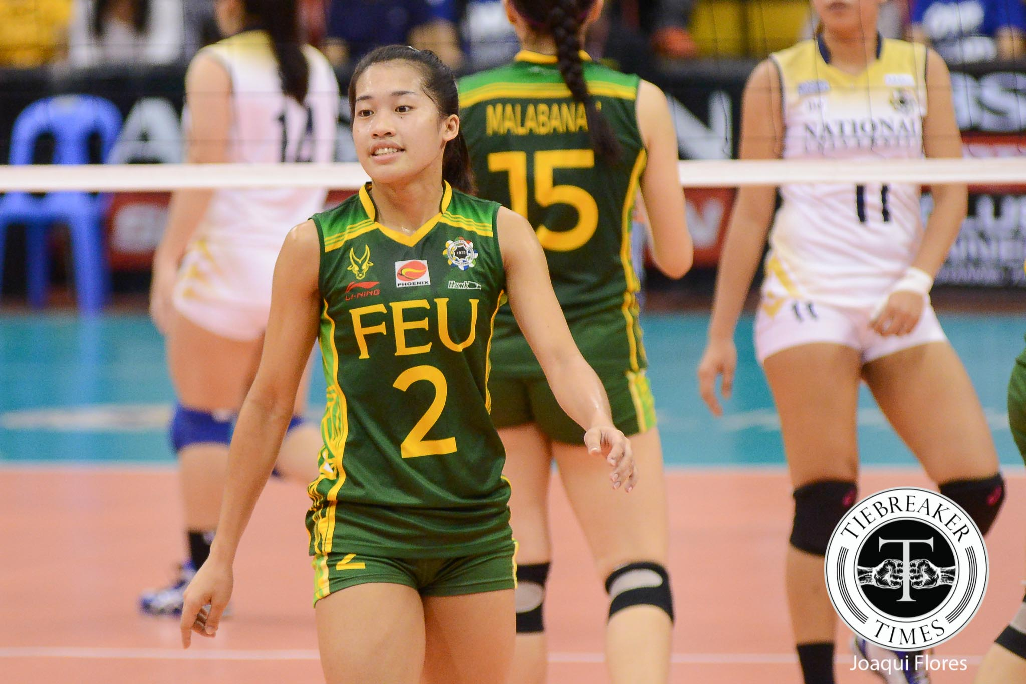 Philippine Sports News - Tiebreaker Times Pons would have preferred sweep over career-high against NU FEU News UAAP Volleyball  UAAP Season 78 Women's Volleyball UAAP Season 78 FEU Women's Volleyball Bernadeth Pons