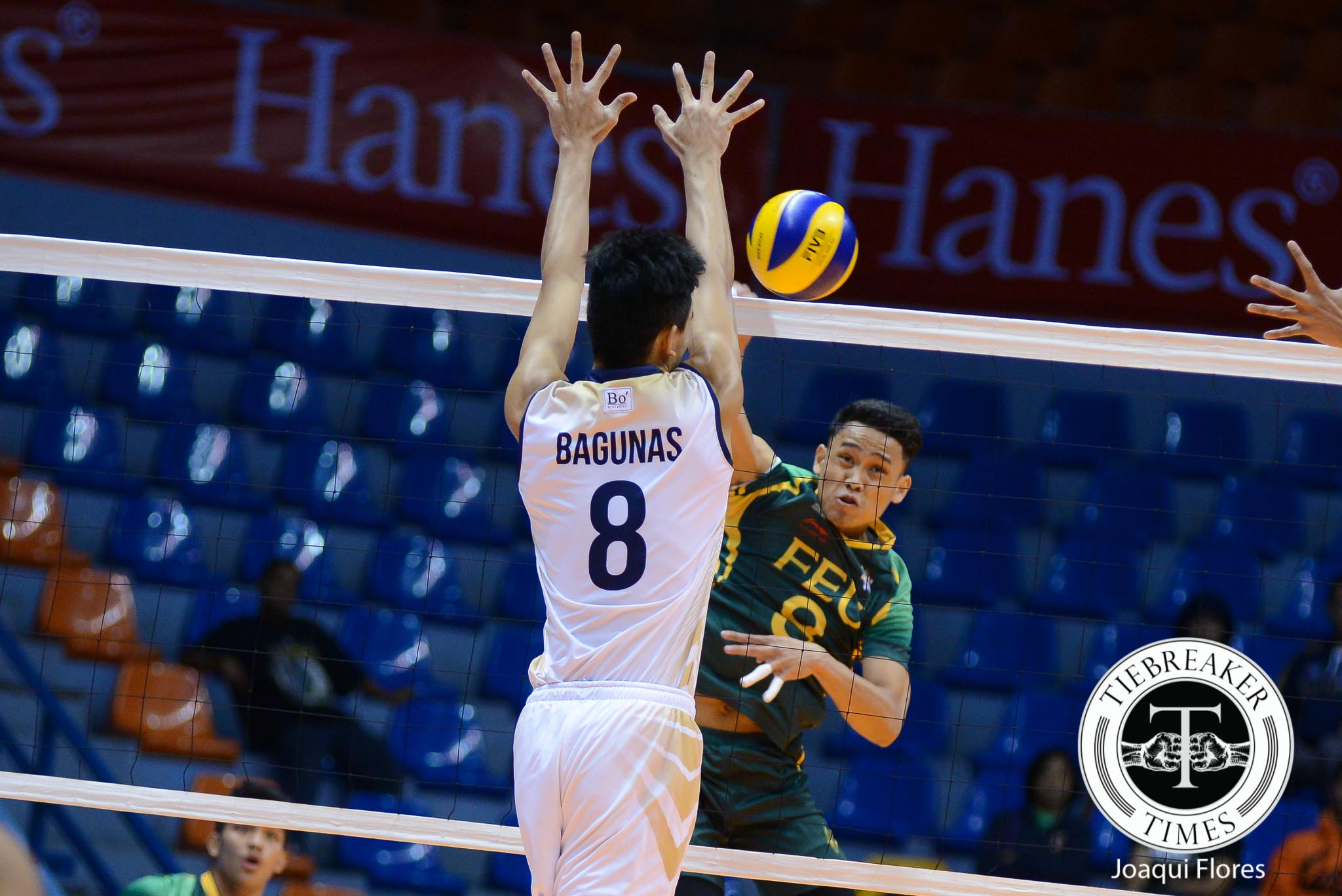 Tiebreaker Times FEU caps first round with masterful beating of NU FEU News NU UAAP Volleyball  UAAP Season 78 Men's Volleyball UAAP Season 78 NU Men's Volleyball Madz Gampong Kim Malabunga Jude Garcia JP Bugaoan Jeric Gacutan James Natividad FEU Men's Volleyball