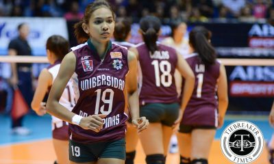 Tiebreaker Times UP's Tiamzon confirms return for UAAP Season 79 News PVL UAAP UP Volleyball  UP Women's Volleyball UAAP Season 79 Women's Volleyball UAAP Season 79 Nicole Tiamzon 2016 SVL Season 2016 SVL Open Conference