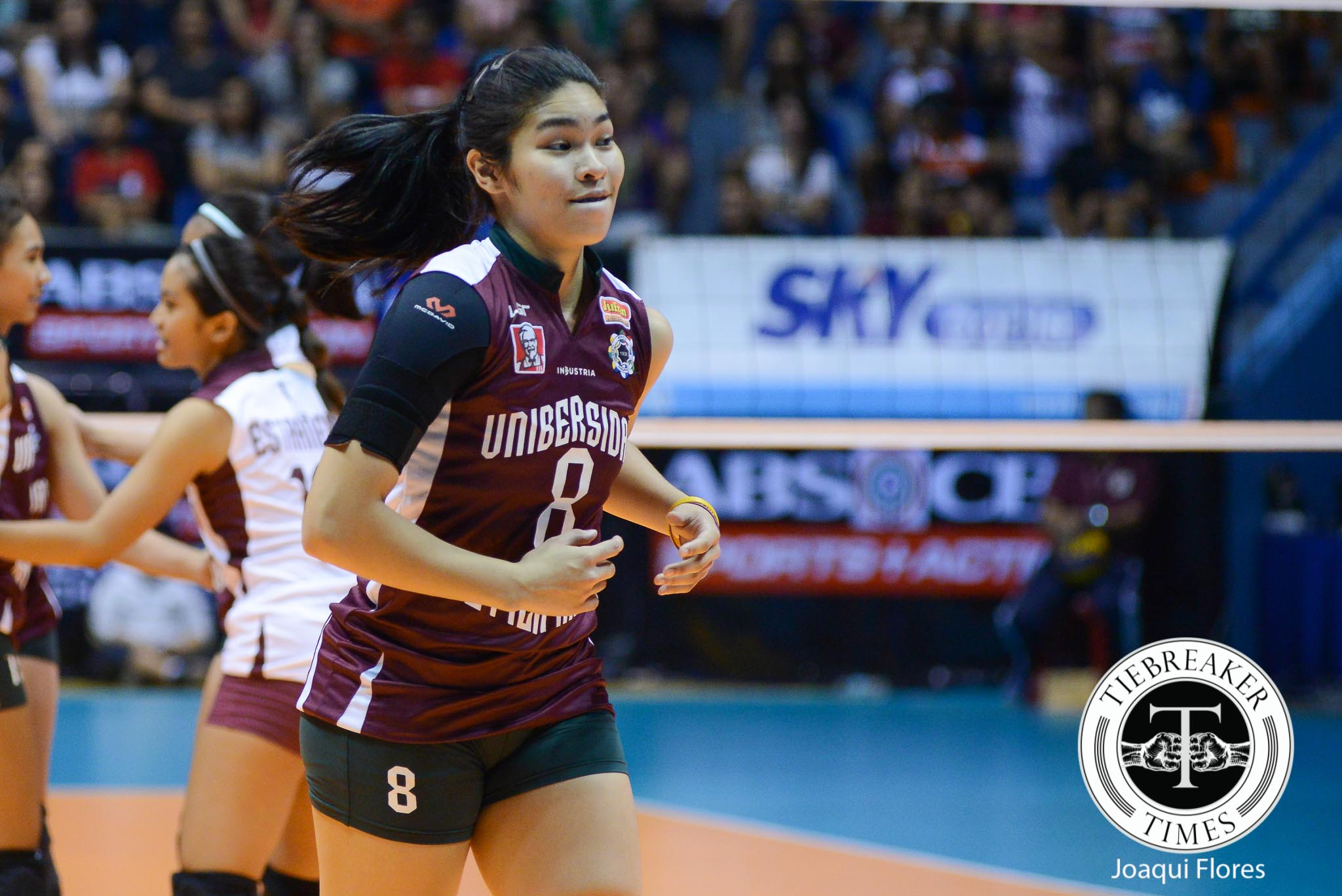 Tiebreaker Times Bersola: Better days ahead for UP News UAAP UP Volleyball  UP Women's Volleyball UAAP Season 78 Women's Volleyball UAAP Season 78 Kathy Bersola