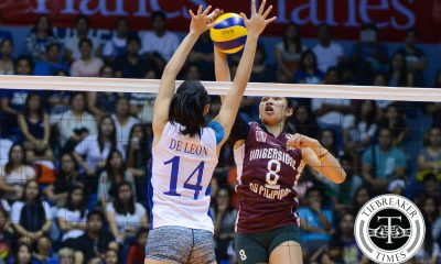 Tiebreaker Times Katipunan Takeover: UP leaves Ateneo dumbfounded in another upset ADMU News UAAP UP Volleyball  UP Women's Volleyball UAAP Season 78 Women's Volleyball UAAP Season 78 Tai Bundit Nicole Tiamzon Jho Maraguinot Jerry Yee Isa Molde Diana Carlos Bea De Leon Ateneo Women's Volleyball Alyssa Valdez