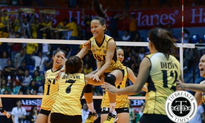 Tiebreaker Times Cherry Rondina: the embodiment of Tiger Power News UAAP UST Volleyball  UST Women's Volleyball UAAP Season 78 Women's Volleyball UAAP Season 78 Cherry Rondina