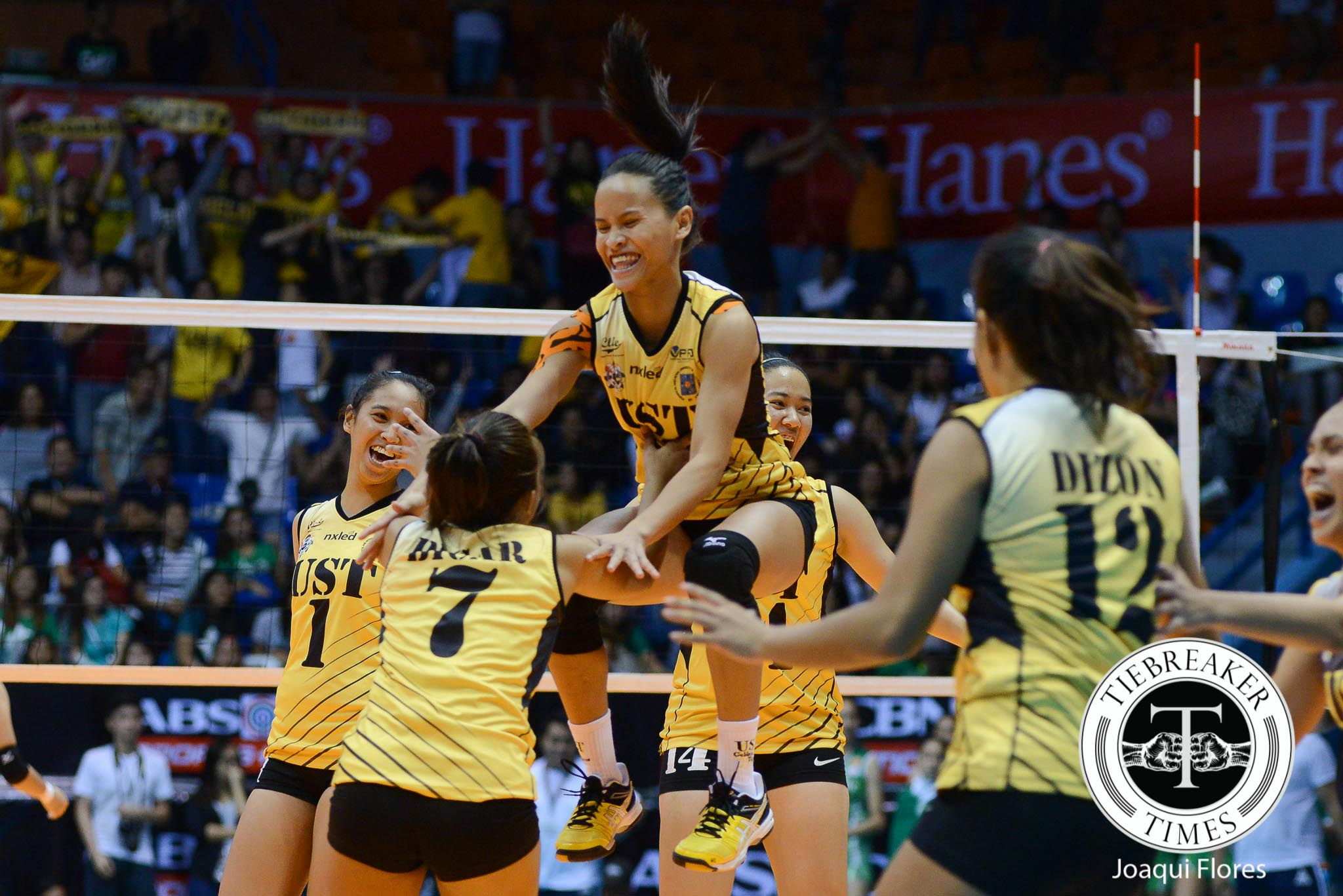 Philippine Sports News - Tiebreaker Times Cherry Rondina: the embodiment of Tiger Power News UAAP UST Volleyball  UST Women's Volleyball UAAP Season 78 Women's Volleyball UAAP Season 78 Cherry Rondina