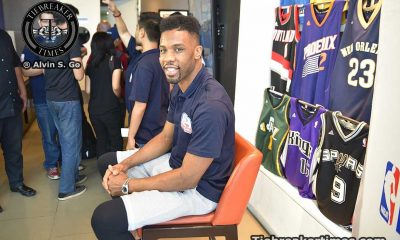 Tiebreaker Times Cole, McWilliams-Franklin look forward to teaching Jr. NBA/WNBA participants Basketball News  Taj McWilliams-Franklin Norris Cole NBA Philippines 2016 Jr NBA/Jr WNBA