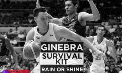 Tiebreaker Times 2016 PBA Comm's Cup QF – Ginebra vs. Rain or Shine: Survival Kit Bandwagon Wire Basketball PBA  Yeng Guiao Tim Cone Rain or Shine Elasto Painters PBA Season 41 JR Quinahan Greg Slaughter Chris Ellis Barangay Ginebra San Miguel 2016 PBA Commissioners Cup