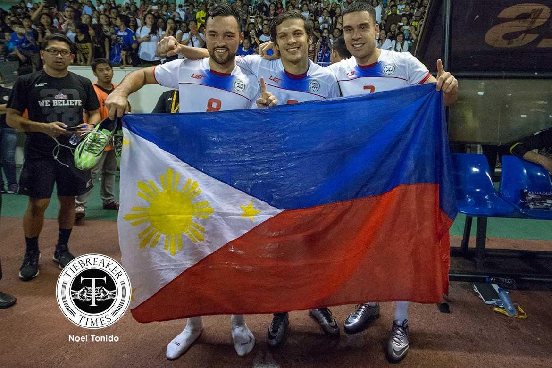 Tiebreaker Times Azkals reach groundbreaking heights in FIFA World Rankings Football News Philippine Azkals  Thomas Dooley FIFA Men's World Rankings 2018 FIFA World Cup Qualifiers