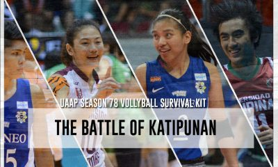Tiebreaker Times Battle of Katipunan: Survival Kit ADMU Bandwagon Wire UAAP UP Volleyball  Ysay Marasigan Wendel Miguel UP Women's Volleyball UP Men's Volleyball UAAP Season 78 Women's Volleyball UAAP Season 78 Men's Volleyball UAAP Season 78 Marck Espejo Mac Millete Kim Gequillana Jia Morado Isa Molde Diana Carlos Ateneo Women's Volleyball Ateneo Men's Volleyball Amy Ahomiro Alyssa Valdez Alfred Valbuena