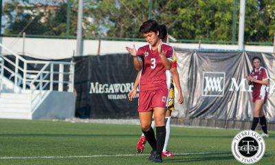 Tiebreaker Times De los Reyes rues UP WFT's lack of second-half willpower News UAAP UP  UP Women's Football Team UAAP Season 78 Women's Football Team UAAP Season 78 Cristina De los Reyes