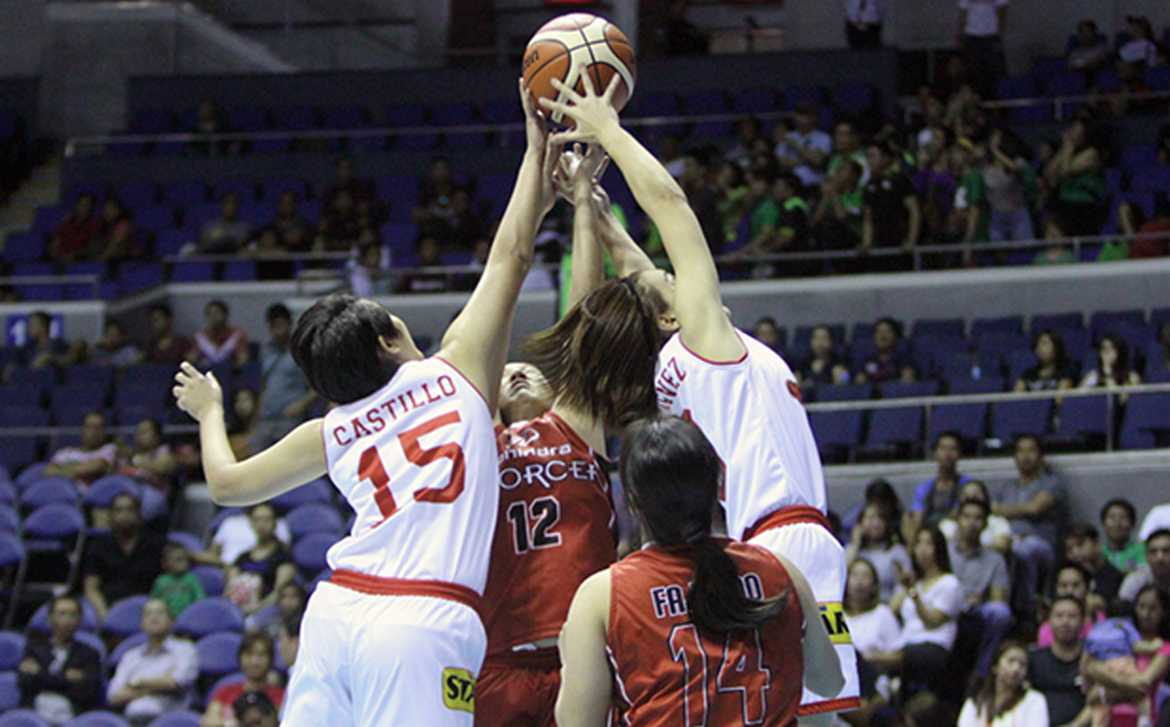 Tiebreaker Times PBA women's 3-on-3 players forced to comply with rules for sake of playing 3x3 Basketball News PBA  PBA Season 41 2016 PBA-Tag Heuer Women's 3-on-3