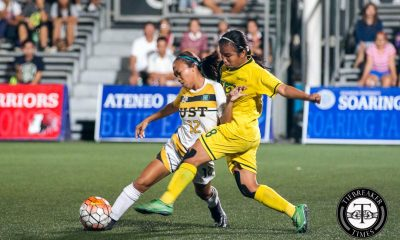Tiebreaker Times UST, FEU settle for costly draw FEU Football News UAAP UST  UST Women's Football Team UAAP Season 78 Women's Football Tournament UAAP Season 78 Princess Kate Aguilar Prescila Rubio Let Dimzon Kimberley Cupal Kim Parina Jovelle Sudaria Ivy Lopez FEU Women's Football Team Chanda Solite Barbie Sobredo Aloha Bejic