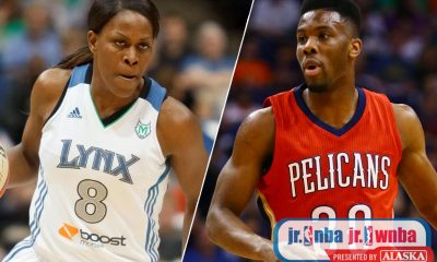 Tiebreaker Times Pelicans' Cole and WNBA Champion McWilliams-Franklin bring basketball to Filipino youth Basketball News  Taj McWilliams-Franklin Norris Cole NBA Philippines 2016 Jr NBA/Jr WNBA
