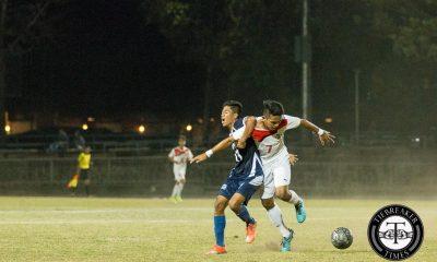 Tiebreaker Times Soaring Falcons frustrate Red Warriors to finalize ranking swap AdU Football News UAAP UE