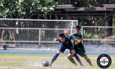 Tiebreaker Times NU, FEU settle for draw in second round clash FEU Football News NU UAAP  UAAP Season 78 Men's Football Tournament UAAP Season 78 Rico Andes Paolo Salenga Paolo Bugas NU Men's Football Team Nico Macapal Nicholas Ferrer Lem Laranas Joshua Mulero FEU Men's Football Team Eric Ben Giganto Chris Perocho