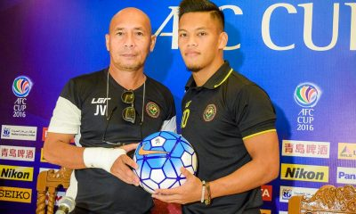 Tiebreaker Times No revenge mission as Kaya aims for qualification in Kitchee rematch AFC Cup Football News  OJ Porteria Kaya FC Joel Villorino AFC Cup 2016 2016 AFC Cup