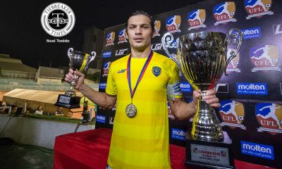 Tiebreaker Times Global FC captain Bahadoran in awe of UFL Cup win Football News UFL  UFL Cup 2016 Misagh Bahadoran Global FC 2016 UFL Season