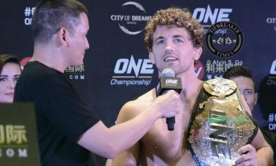 Tiebreaker Times ONE Champion Askren vows to give a show to Manila fans Mixed Martial Arts News ONE Championship  ONE Global Rivals Ben Askren