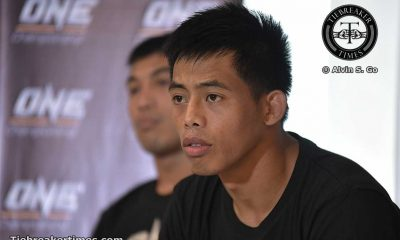 Tiebreaker Times Still a learning process for former ONE Champion Banario Mixed Martial Arts News ONE Championship  Team Lakay ONE Global Rivals Honorio Banario