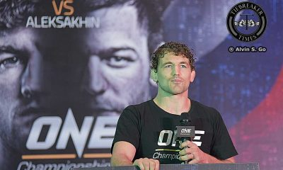 Tiebreaker Times Turning a negative into a positive: Askren gives back to Children's Hour Mixed Martial Arts News ONE Championship  ONE Global Rivals Ben Askren