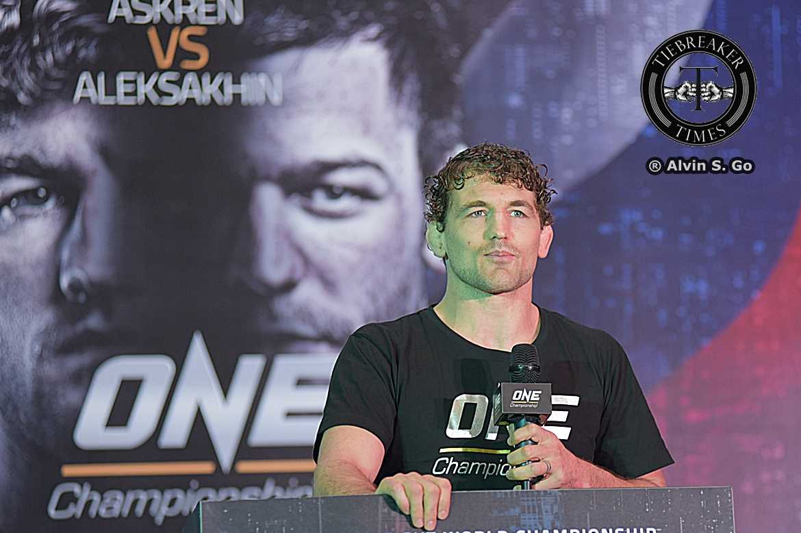 Philippine Sports News - Tiebreaker Times Turning a negative into a positive: Askren gives back to Children's Hour Mixed Martial Arts News ONE Championship  ONE Global Rivals Ben Askren