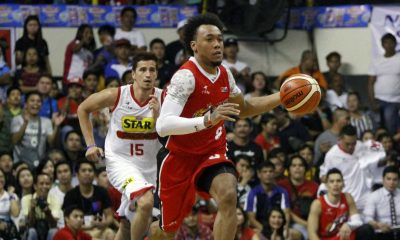 Tiebreaker Times Abueva, Alaska prevail over Star in Davao Basketball News PBA  Star Hotshots Sonny Thoss Ricardo Ratliffe PBA Season 41 Marc Pingris Jason Webb Chris Banchero Calvin Abueva Allein Maliksi Alex Compton Alaska Aces 2016 PBA Commissioners Cup